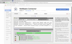 Netbeans-Google chrome